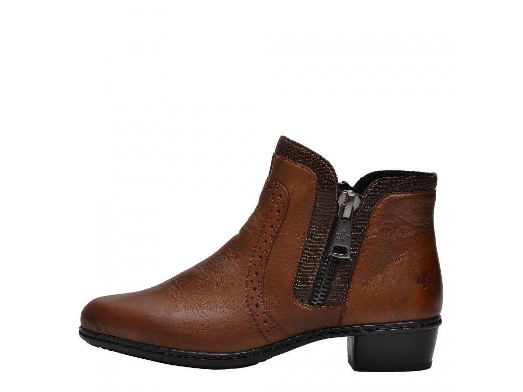 Dámské kotníkové boty RIEKER, model Y0727-22