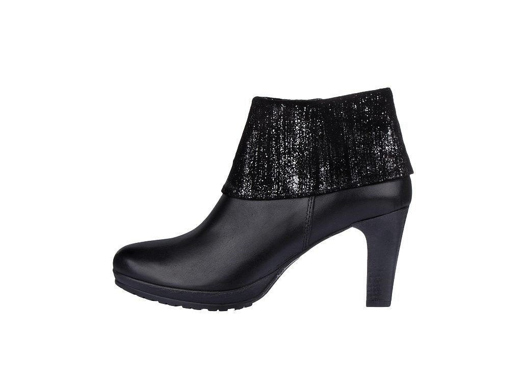 Dámské kotníkové boty TAMARIS, model 1-25460-27 033 black metallic