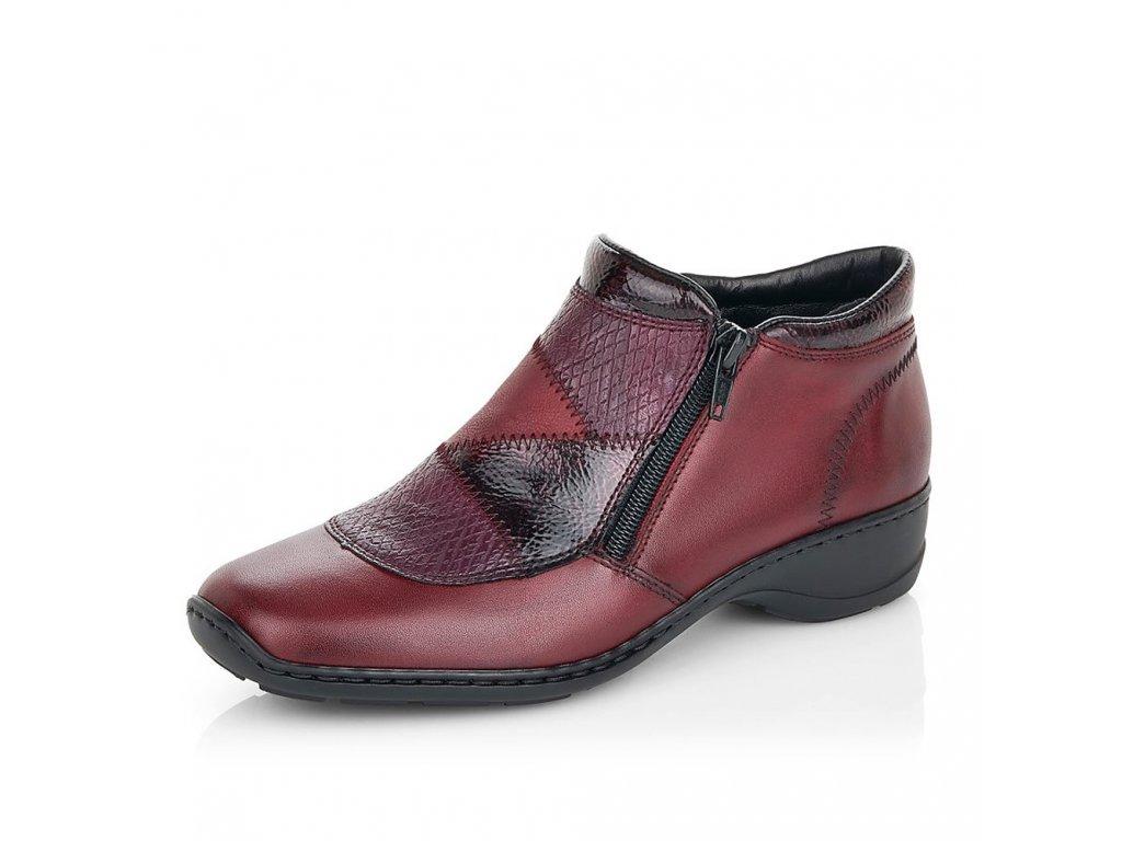 Dámské kotníkové boty RIEKER, model 58387-35