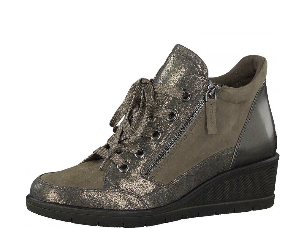Dámské kotníkové boty TAMARIS, model 1-25233-29 341 taupe