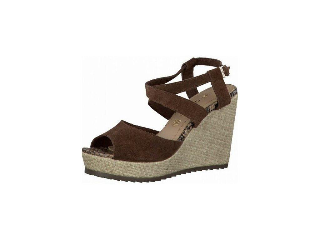 Dámská letní obuv s.OLIVER, model 5-28330-32 304 mocca