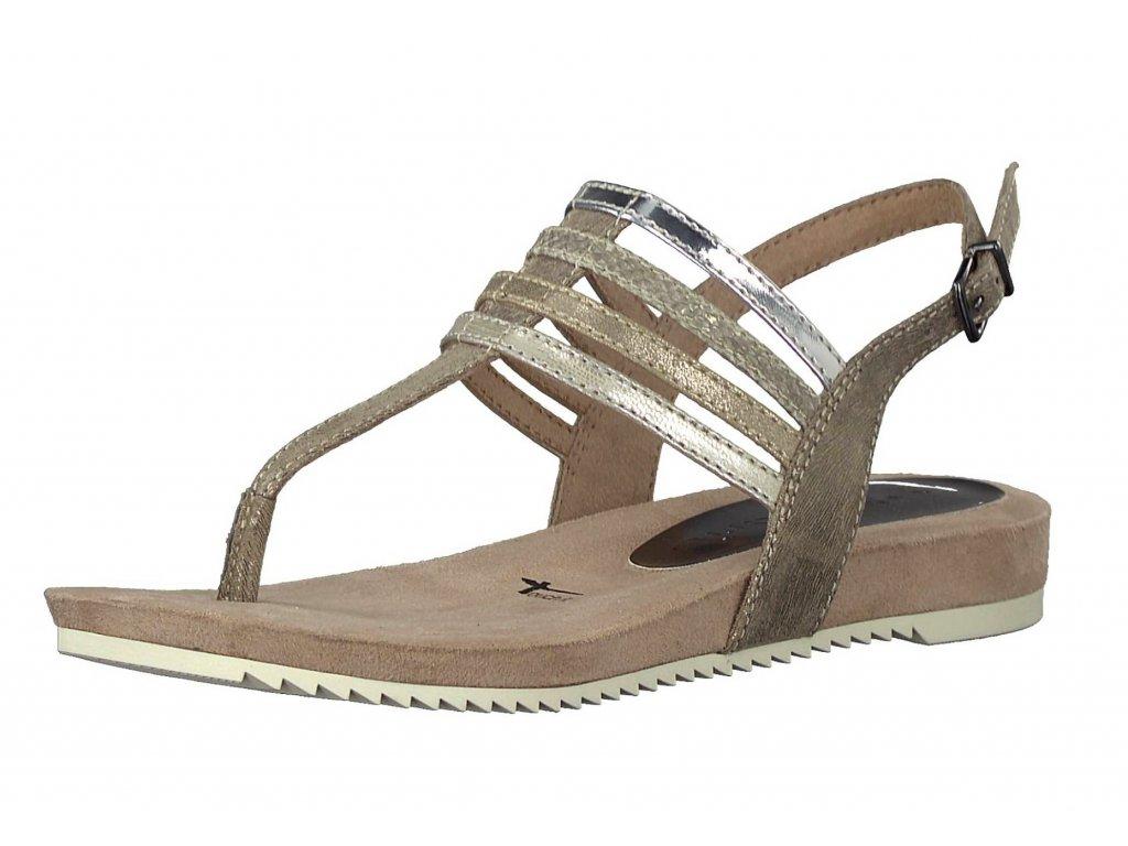 Dámské letní sandále TAMARIS, model 1-28634-20 301 pepper comb.