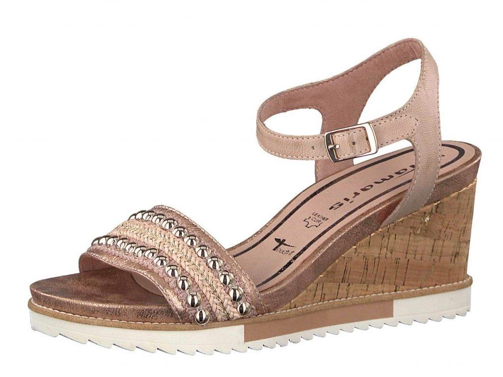 Dámské letní boty TAMARIS, model 1-28336-20 596 rose comb.