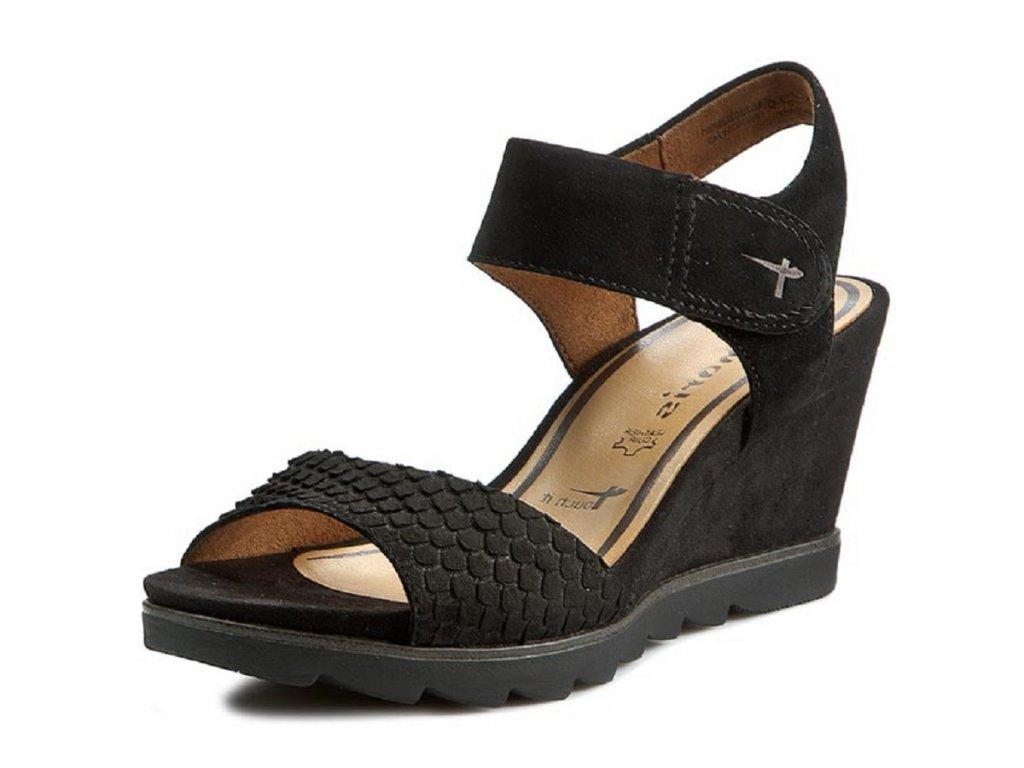 Dámské letní boty TAMARIS, model 1-28302-26 001 black