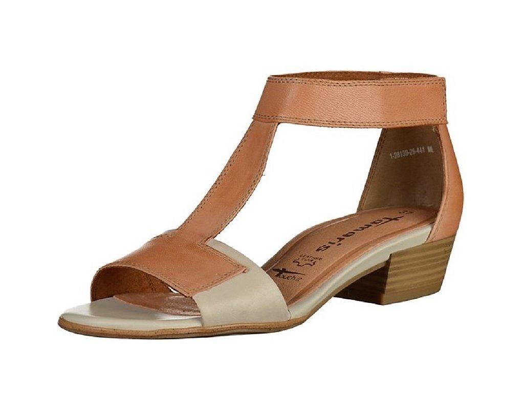 Dámské letní boty TAMARIS, model 1-28139-26 441 nut comb