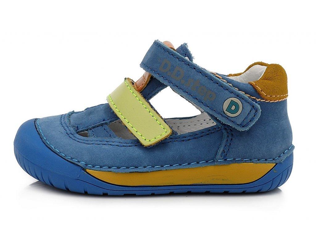 Celoroční chlapecké boty D.D.STEP, model 070-698 modré