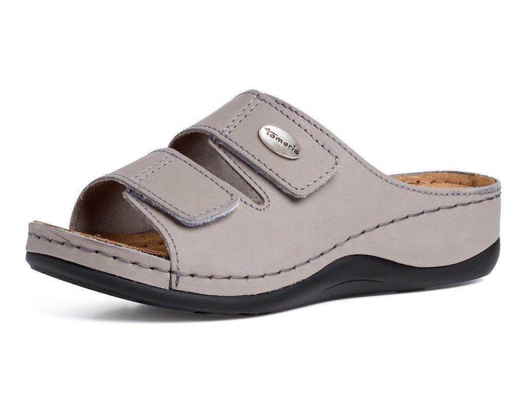 Dámské pantofle TAMARIS, model 1-27510-26 200 grey