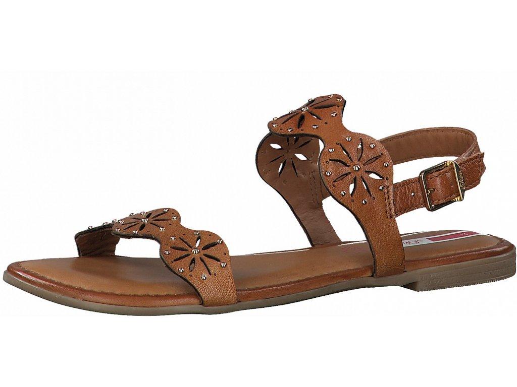Dámské letní sandále S.OLIVER, model 5-28111-26 305 cognac
