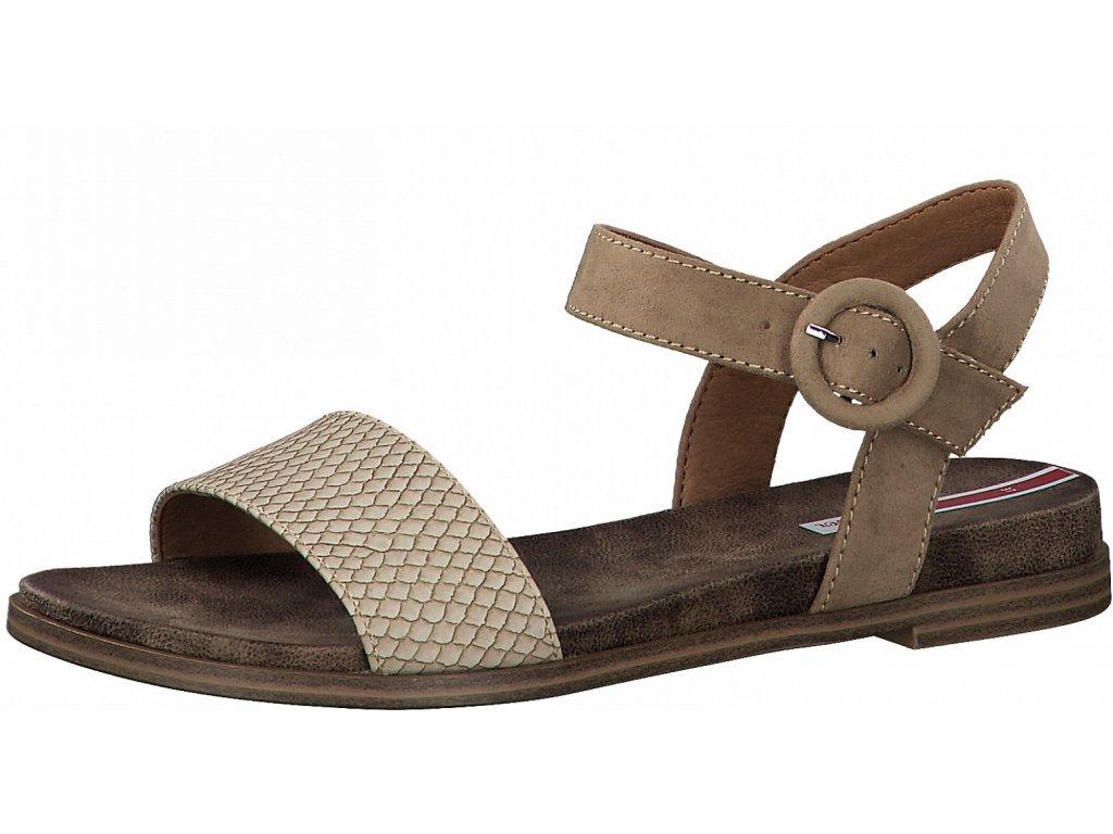 Dámské letní sandále S.OLIVER, model 5-28105-26 341 taupe
