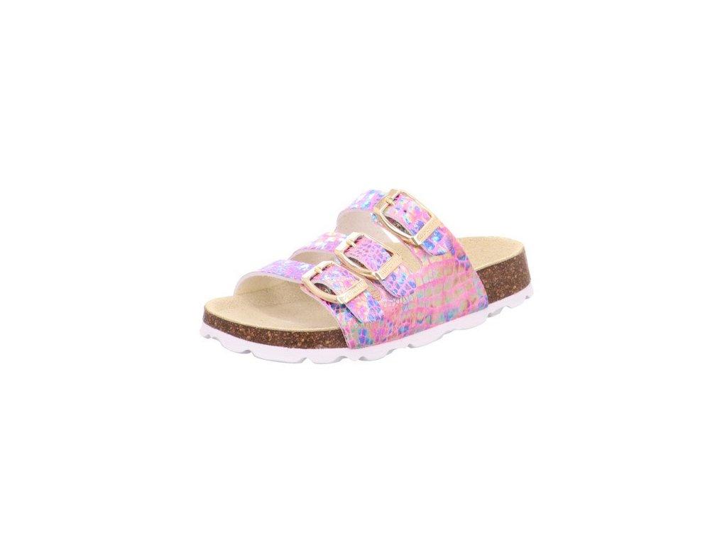 Dívčí domácí pantofle SUPERFIT, model 1-800113-5000
