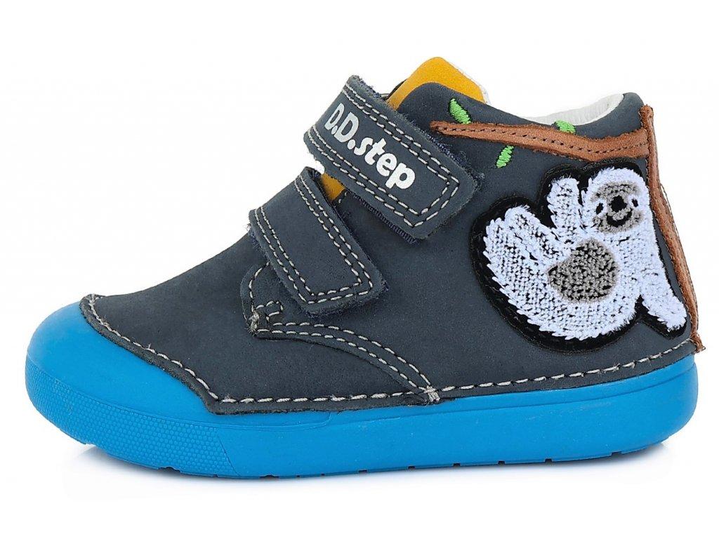 Celoroční chlapecké boty D.D.STEP, model S066-469 royal blue