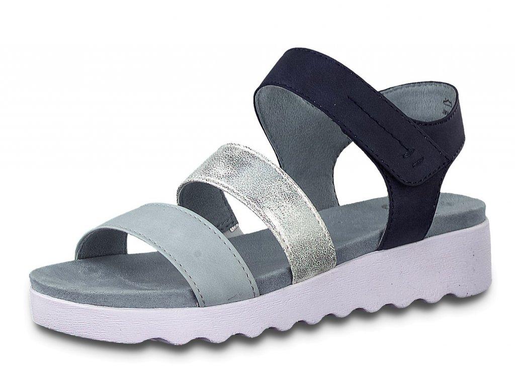 Dámské sandále JANA, model 8-28264-24 880 blue comb