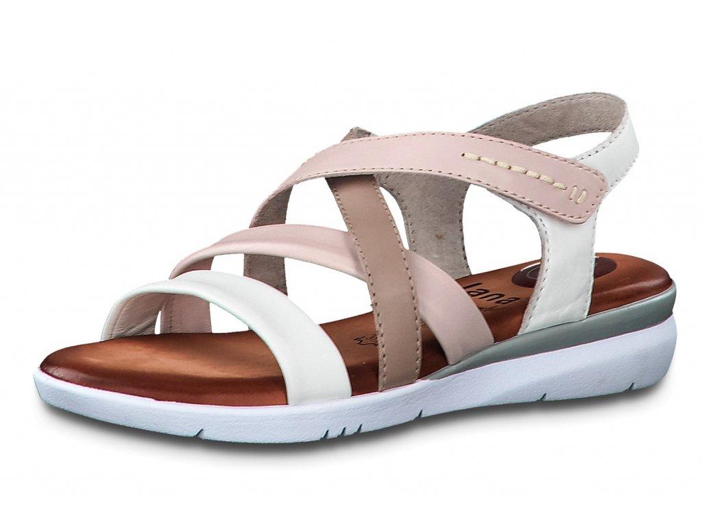 Dámské sandále JANA, model 8-28205-24 197 white comb.