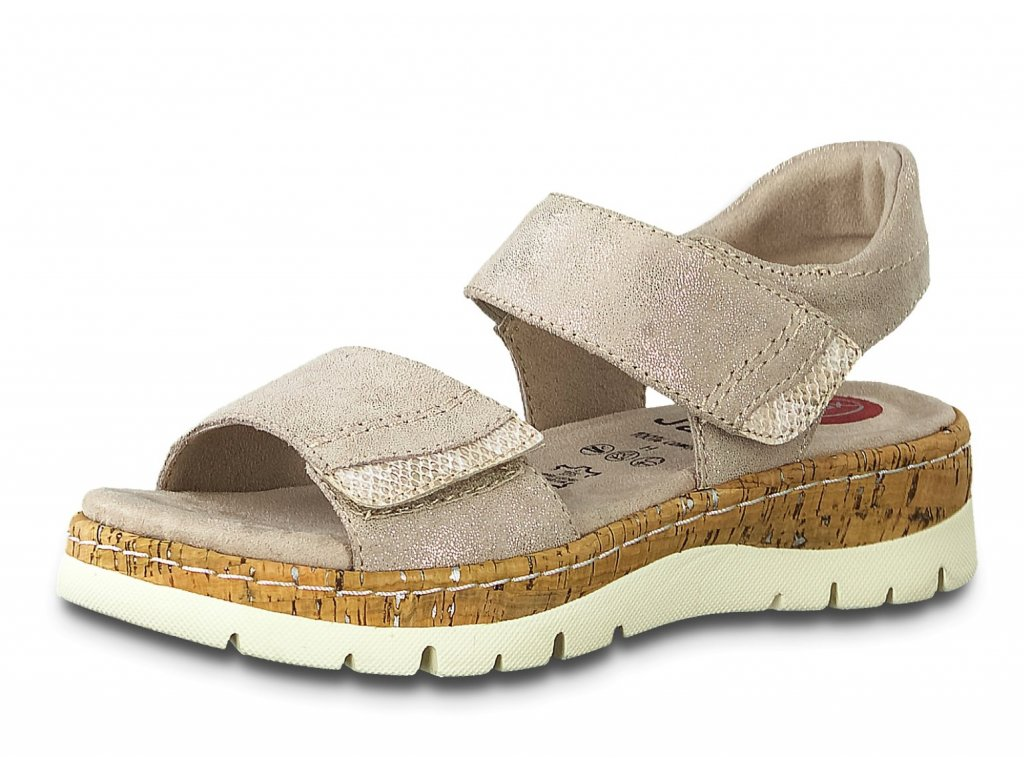 Dámské sandále JANA, model 8-28401-24 357 pepper/lt gold