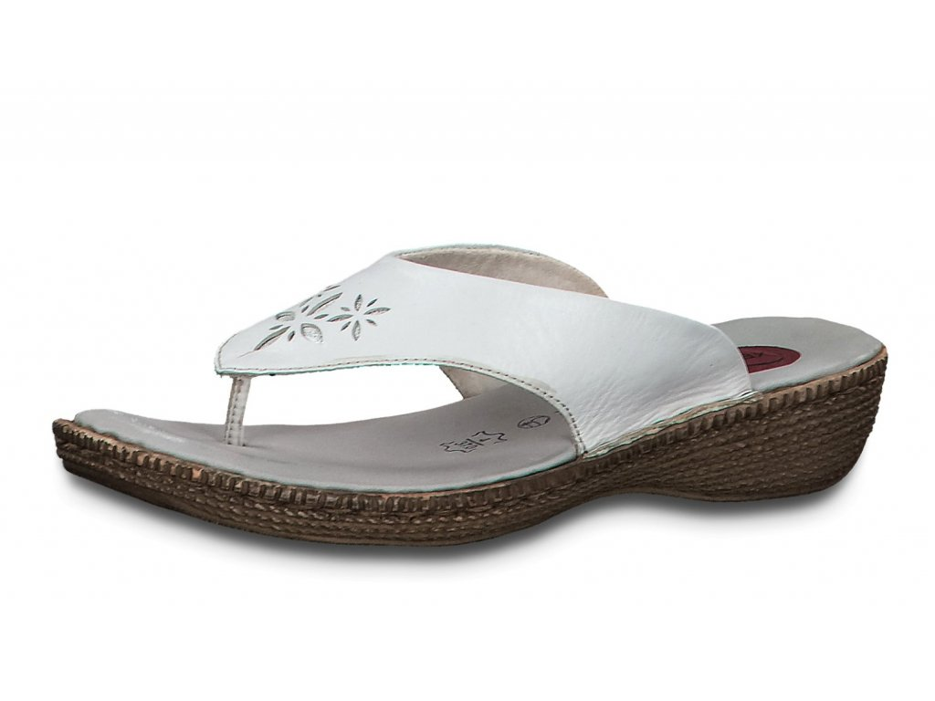 Dámské pantofle JANA, model 8-27113-24 100 white