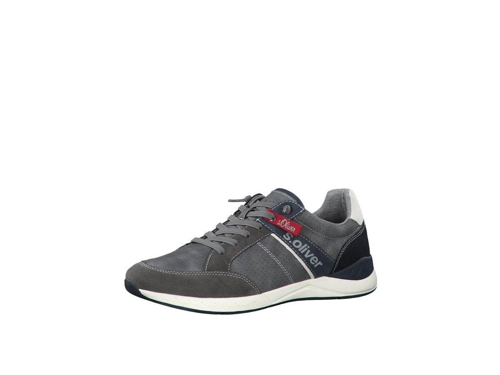 Pánské tenisky s.OLIVER, model 5-13611-24 200 grey