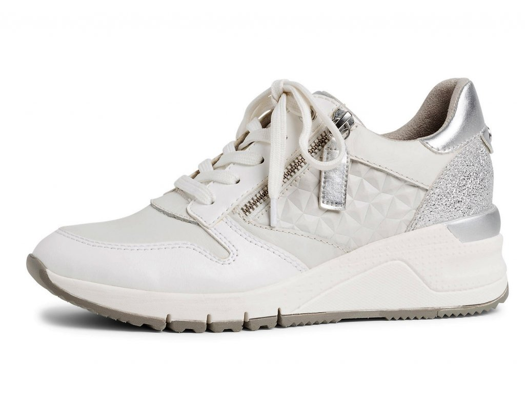 Dámské tenisky TAMARIS, model 1-23702-24 117 white leather
