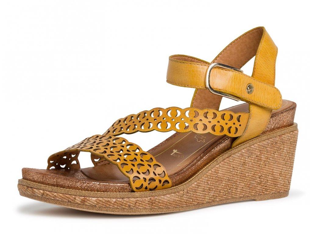 Dámské letní boty TAMARIS, model 1-28022-24 627 saffron