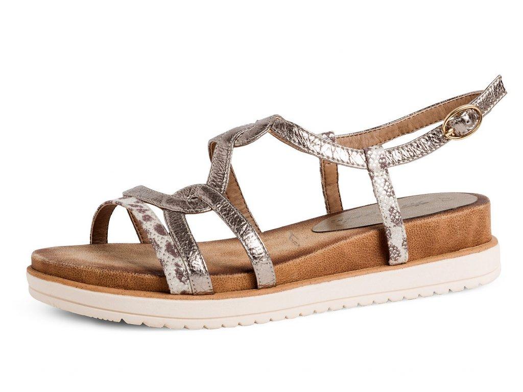 Dámské letní boty TAMARIS, model 1-28200-24 329 leopard comb