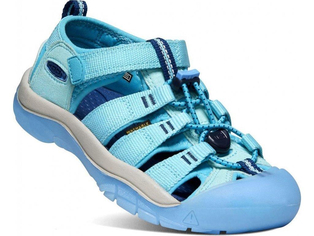 Dětské sandále KEEN, model NEWPORT H2, barva petit four/blue mist