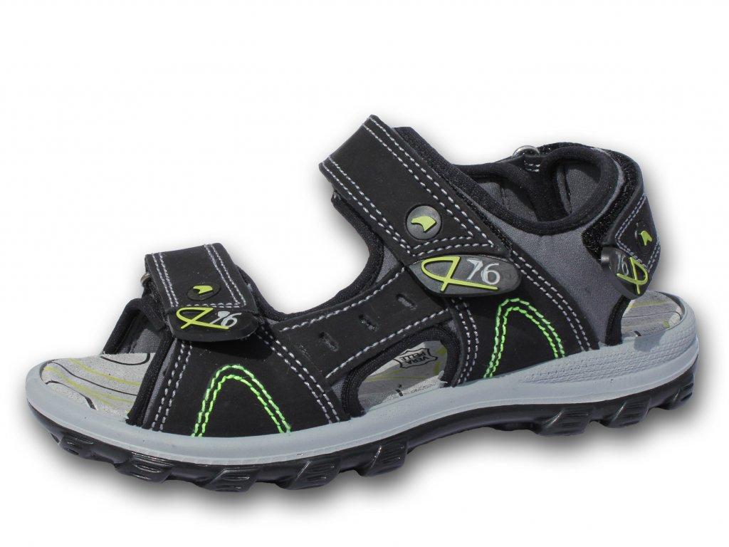 Letní sandálky PRIMIGI, model BABETA, 36810/00 - černé