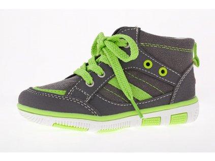 Celoroční dětské boty EB KIDS, model SPLASH 661062 - zelené