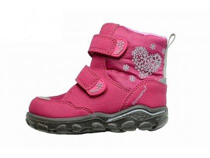 Zimní dívčí dětské boty, obuv LURCHI, model 33-33000-43