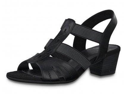 Dámské letní boty JANA, model 8-28267-24 001 black
