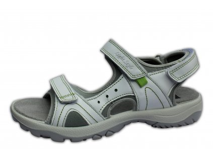 Dámské letní sandále MANITU, model 910661/3 bílé