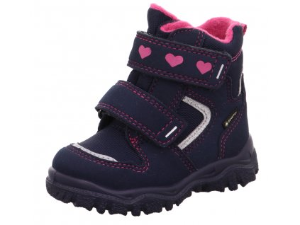 Zimní dětské boty, obuv SUPERFIT, model 1-000045-8000