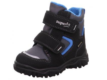 Zimní dětské boty, obuv SUPERFIT, model 1-000047-0000