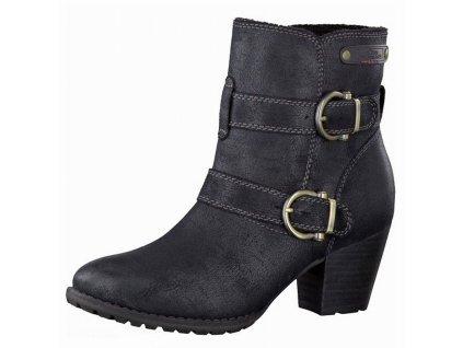 Dámské kotníkové boty s.OLIVER, model 5-25416-23 001 black