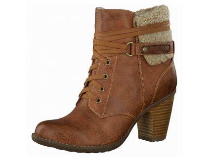 Dámské kotníkové boty s.OLIVER, model 5-26105-23 311 muskat