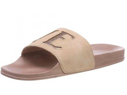 Dámské pantofle s.OLIVER, model 5-27131-30 547 dusty pink