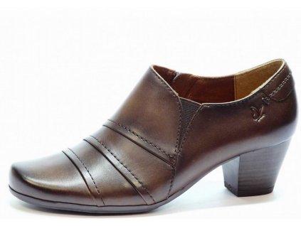 Dámské kotníkové boty CAPRICE, model 9-24402-23 335 dark brown