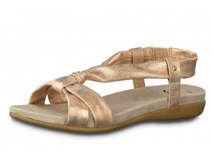 Dámské sandále JANA, model 8-28164-24 522 rose/gold