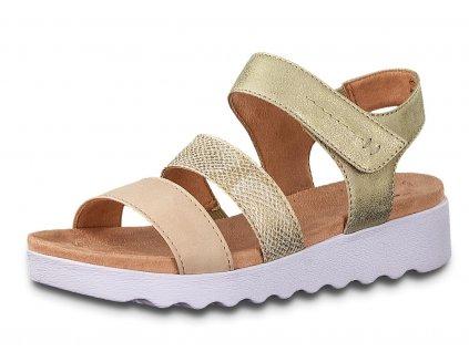 Dámské sandále JANA, model 8-28264-24 502 rose comb