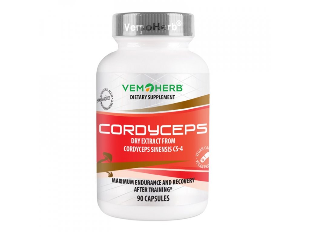 Cordyceps60kapsli Vemoherb