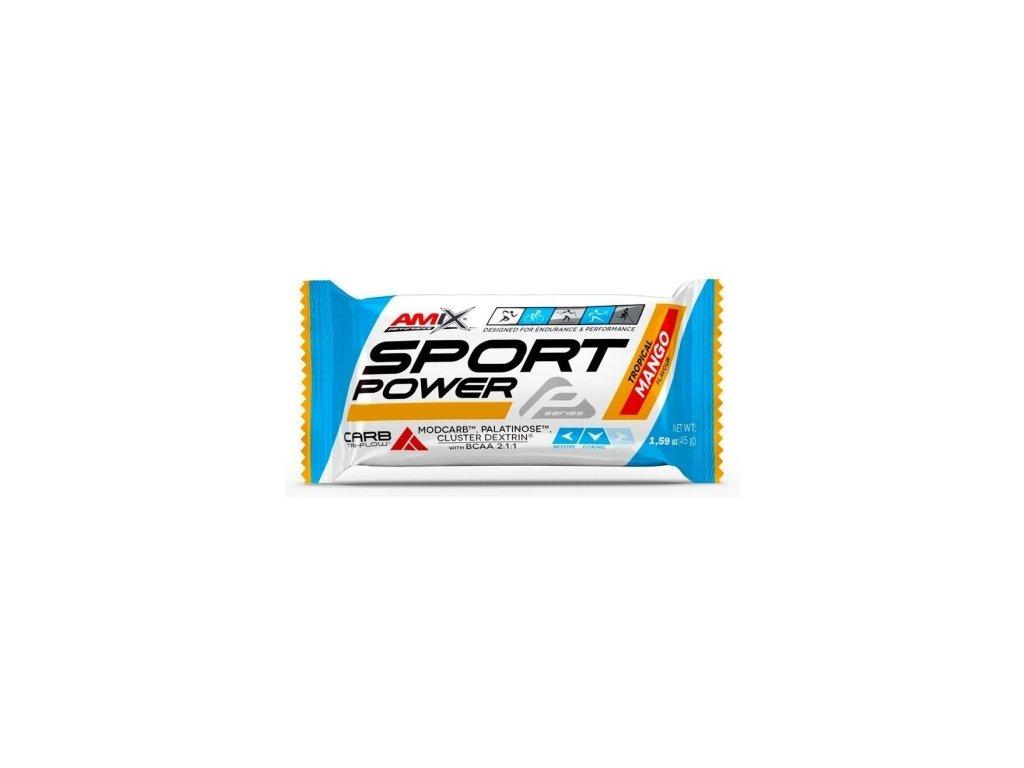 amix sport power energy bar 45g