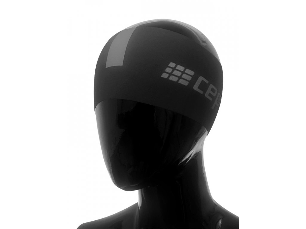 Čelenka CEP černá / tmavě šedá L/XL (obvod hlavy 57 – 63 cm)