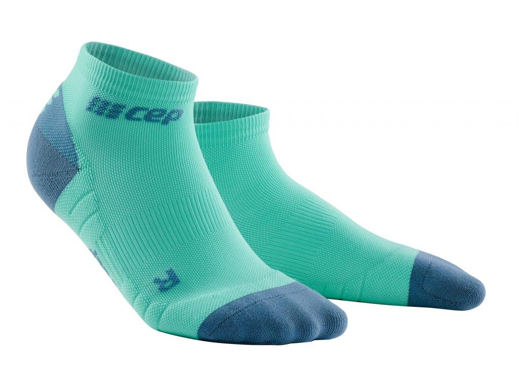 Kotníkové ponožky 3.0 dámské mentolová / šedá II