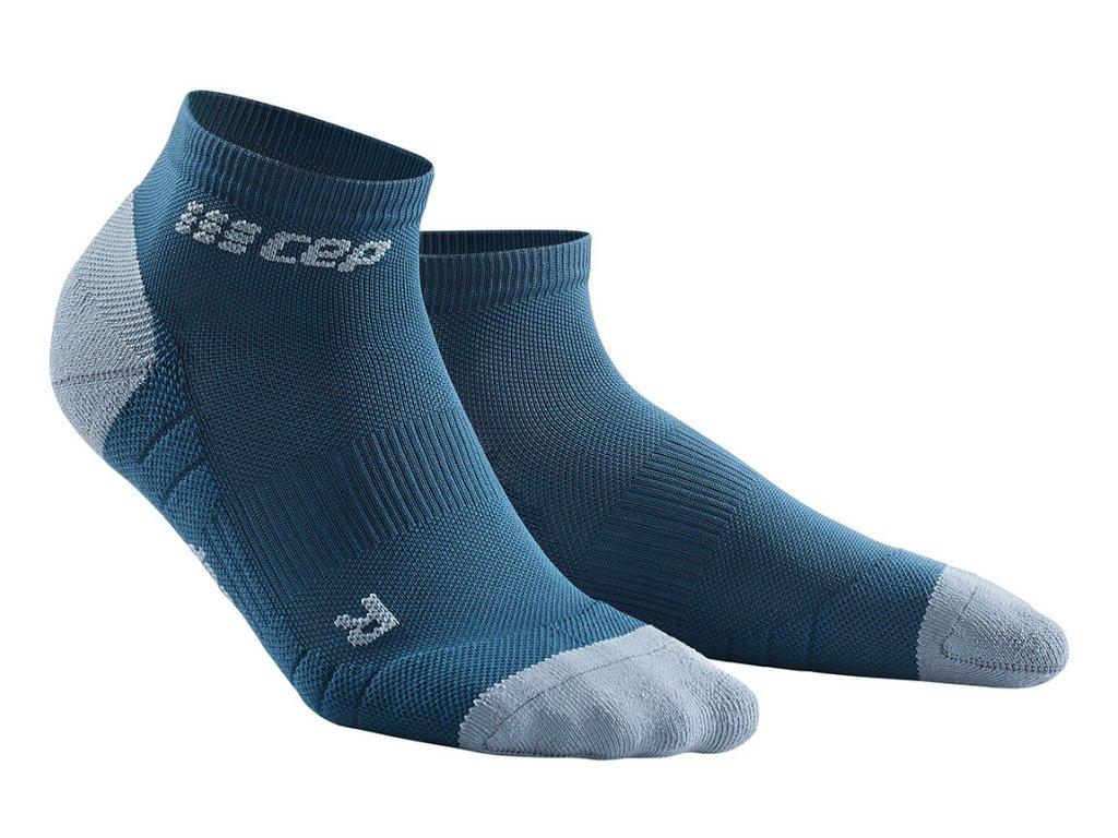 Kotníkové ponožky 3.0 dámské modrá / šedá II