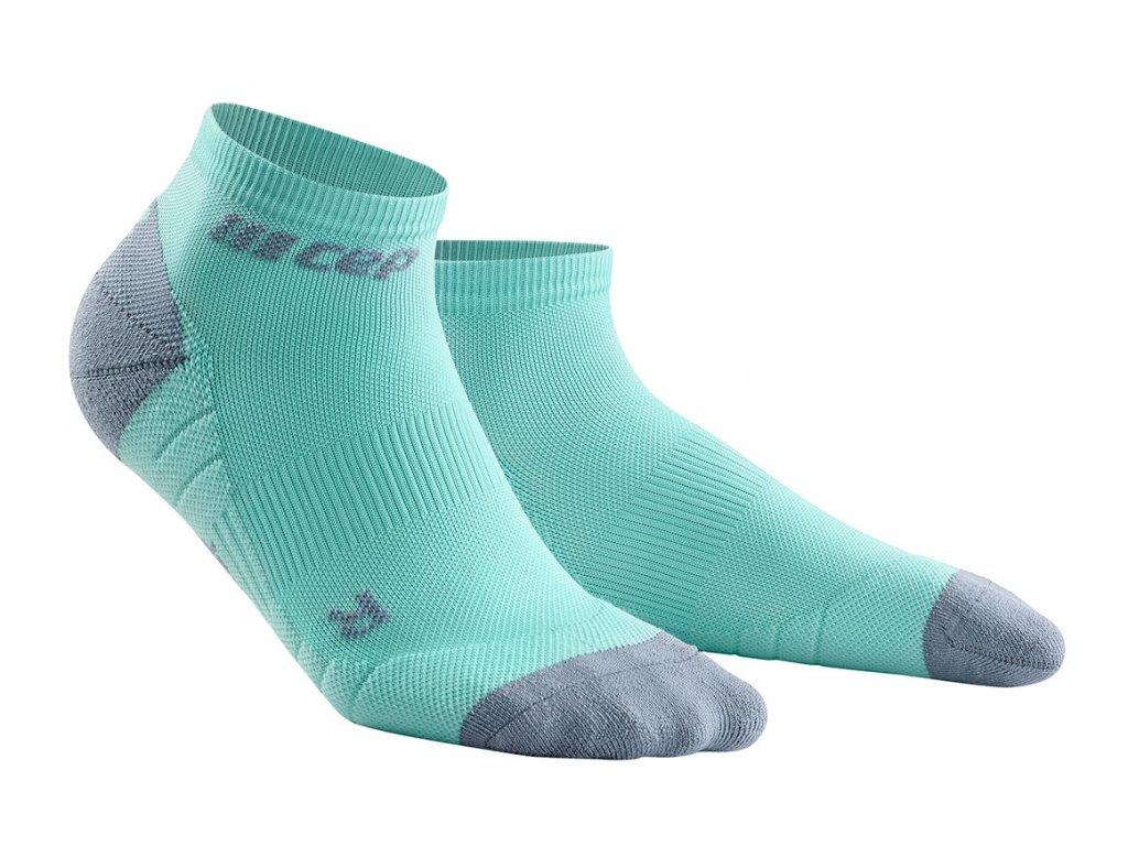 Kotníkové ponožky 3.0 dámské ledově modrá / šedá II