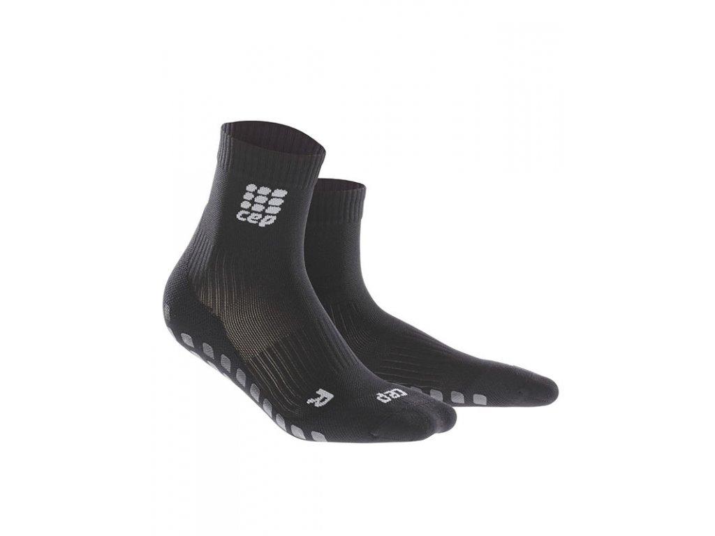 Krátke ponožky GRIPTECH dámské černá II
