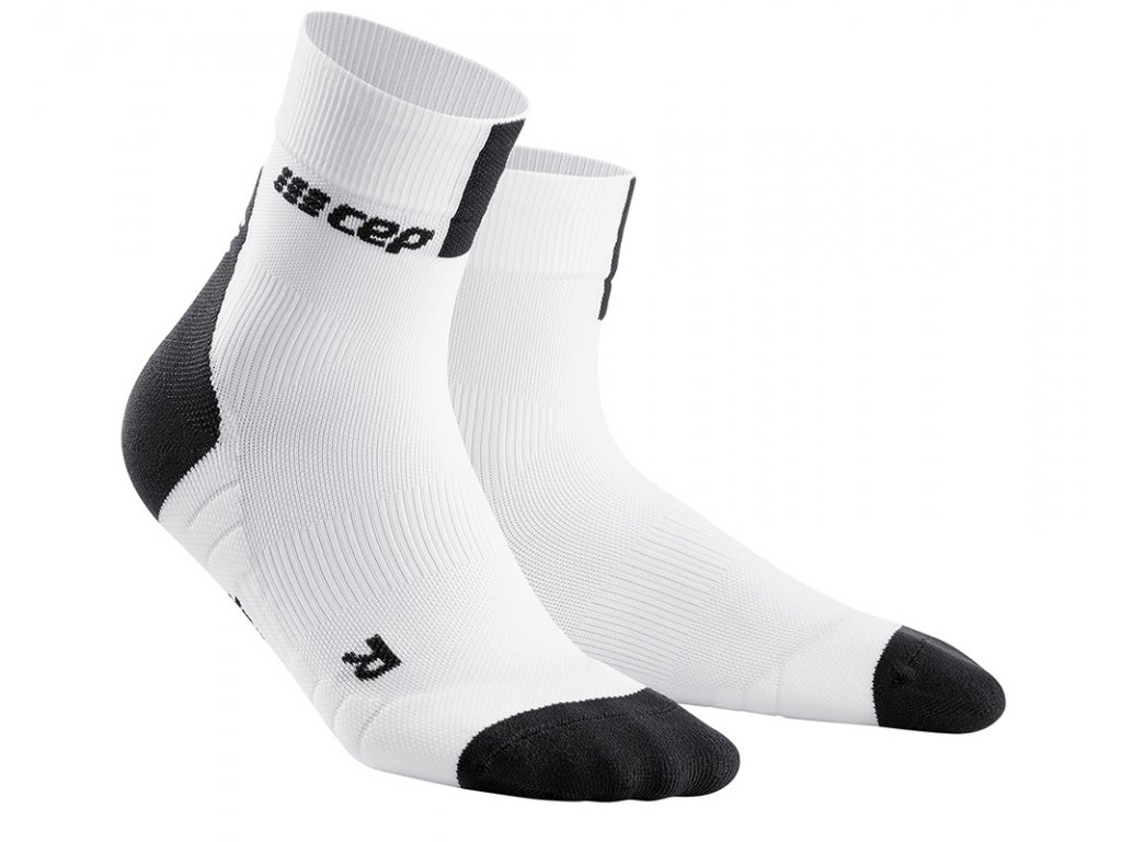 Krátké ponožky 3.0 dámské bílá / tmavě šedá II