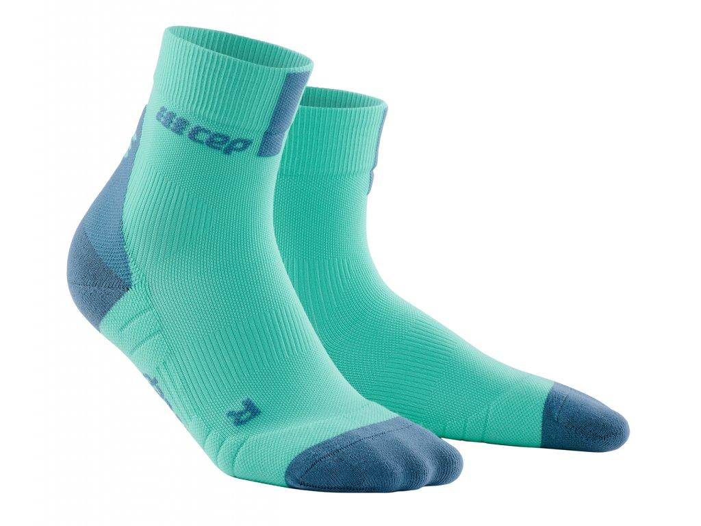 Krátké ponožky 3.0 dámské mentolová / šedá II