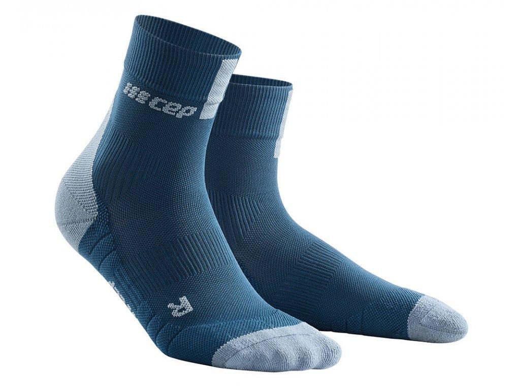 Krátké ponožky 3.0 dámské modrá / šedá II