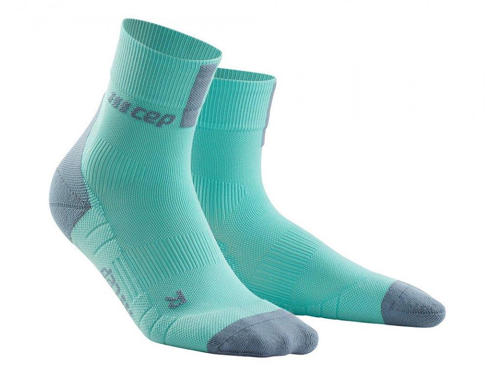 Krátké ponožky 3.0 dámské ledově modrá / šedá II