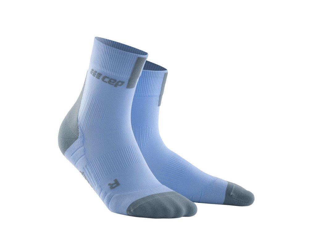 Krátké ponožky 3.0 dámské nebesky modrá / šedá II