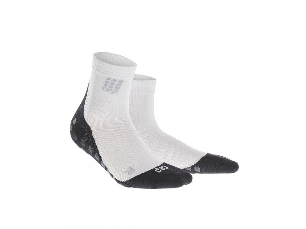 Krátke ponožky GRIPTECH pánské bílá III